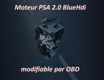 Moteur PSA 2.0 BlueHdi